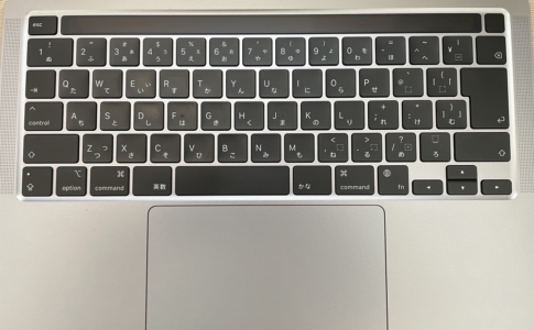 MacBook ProのMagic Keyboard