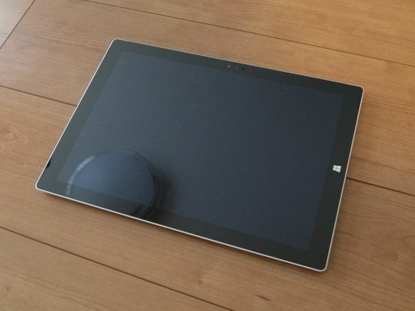 Surfaceはタブレットとしての使い勝手が悪い