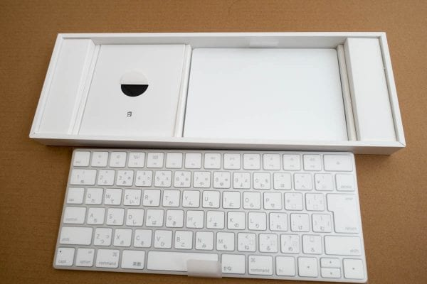 Magic KeyboardとMagic Trackpad 2
