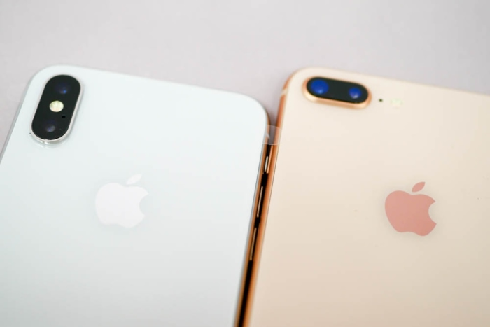 iPhone XとiPhone 8 Plusの比較(カメラ)