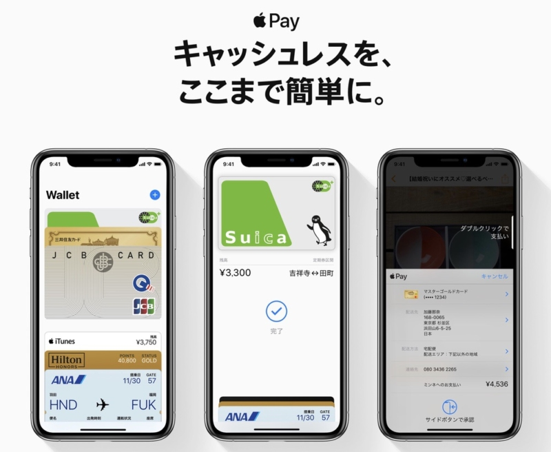 Apple Payの種類