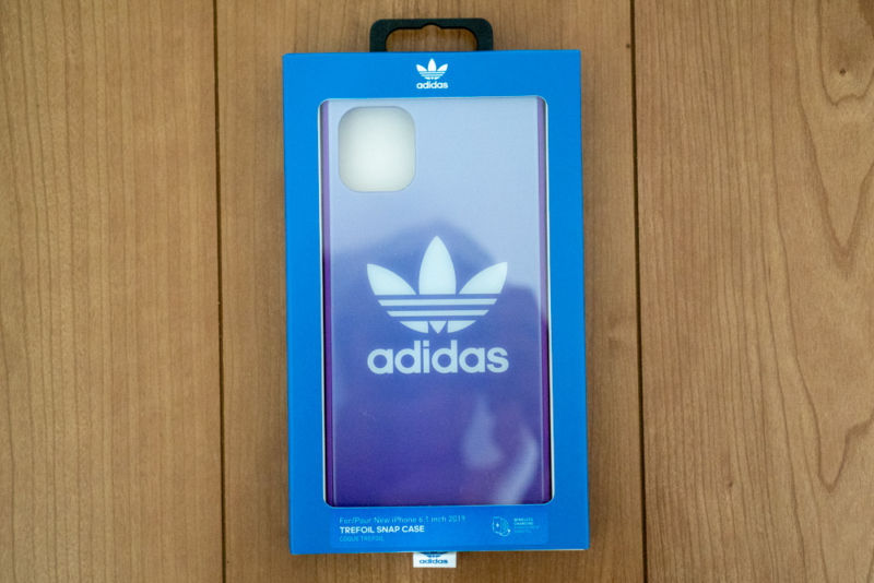 「adidas Originals SQUARE CASE FW19」パッケージ