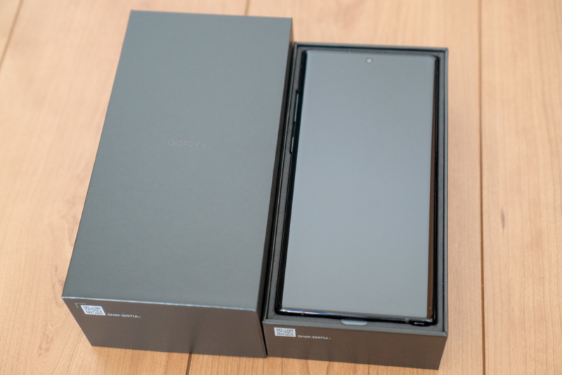 Galaxy Note10+ SO-01Mレビュー