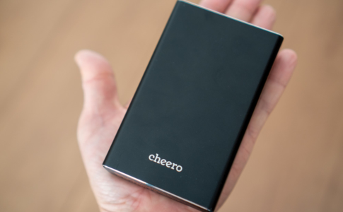 cheero Power Plus 5 15000mAh with Power Delivery 45W(CHE-106)レビュー