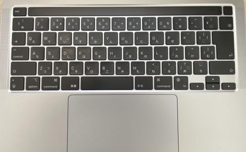 MacBook ProのMagic Keyboard