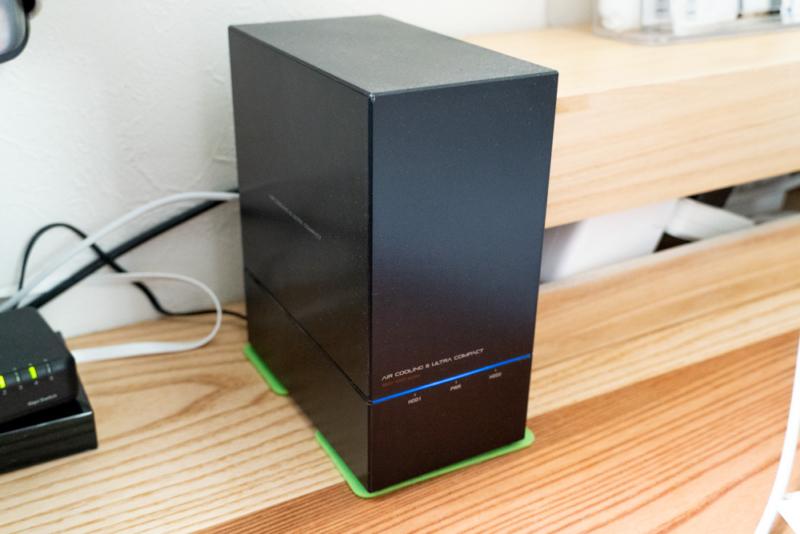 RAID1対応USB-HDD