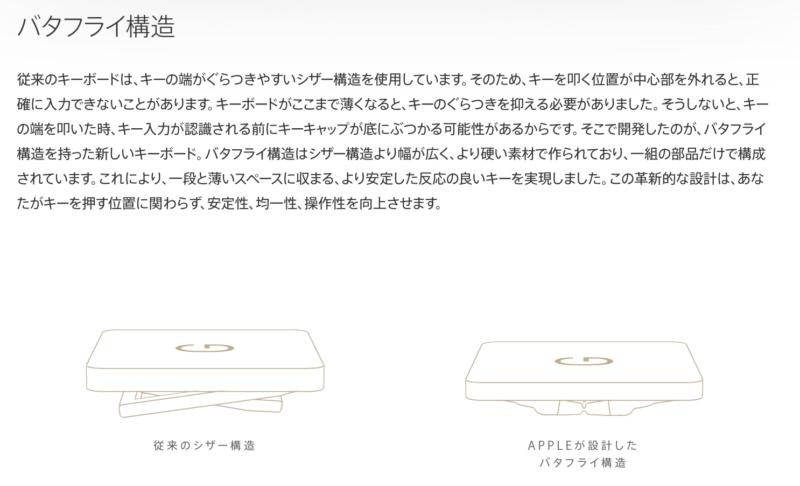バタフライキーボード