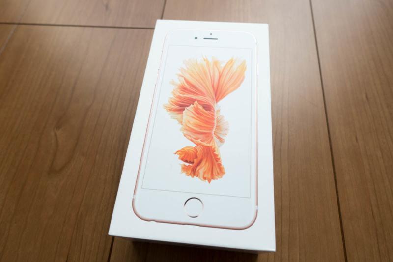 iPhone 6sローズゴールド