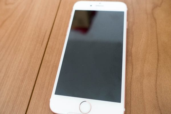 iPhone 6s では3D Touchディスプレイが搭載された