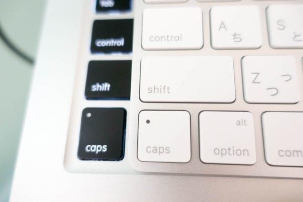 Magic Keyboardはキーの高さも小さくなった