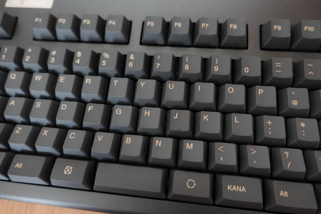 一般的なキー配列