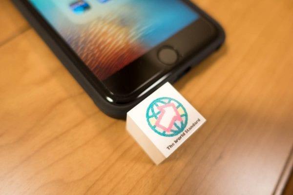 iPhone 6s Plusでダウンロード