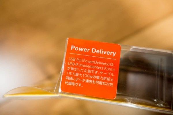 最大の特徴はUSB Power Delivery(PD)に対応している事
