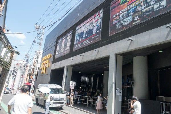 渋谷O-EAST周辺の様子