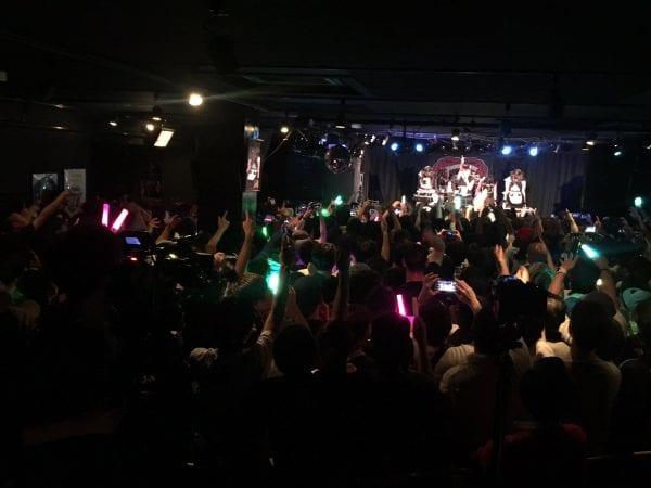 最初から異常なレベルの熱気だった神戸のライブ(引用元:@tws_staff)