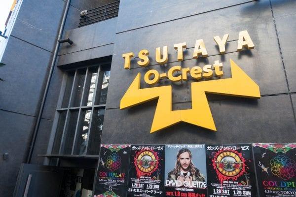 会場はTSUTAYA O-Crest