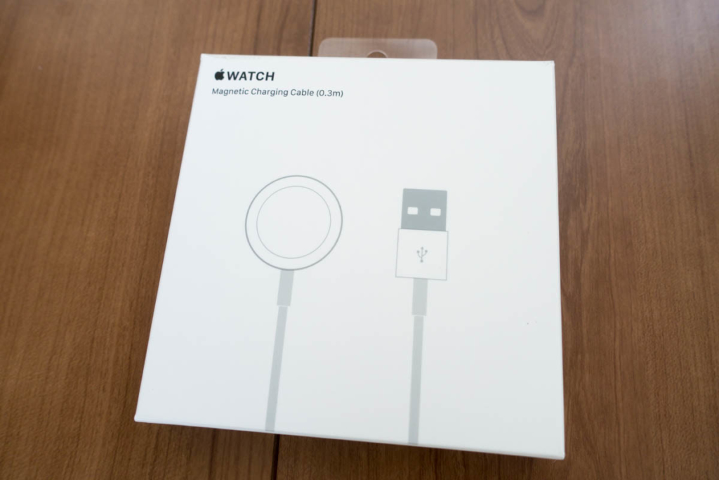 Apple Watch 磁気充電ケーブル(0.3 m)