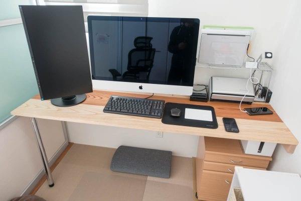 机が大きくなったおかげで購入できた27インチiMac