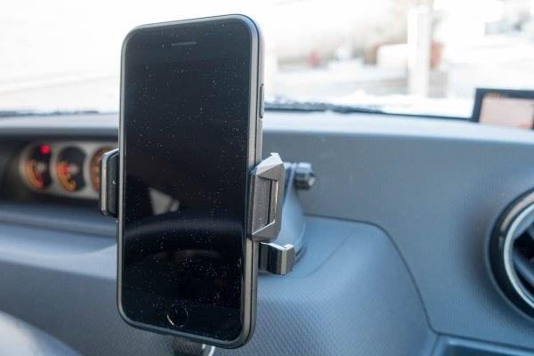 iPhone 7を設置