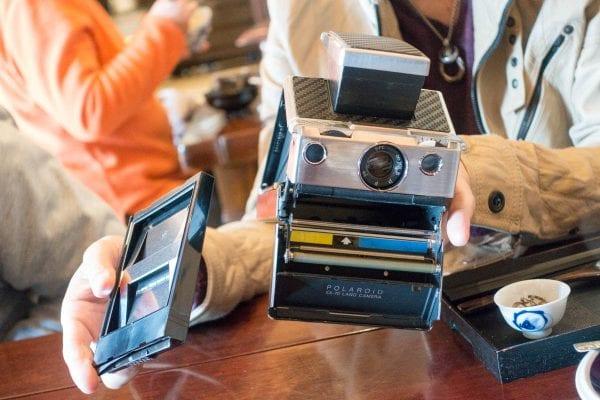 ポラロイドカメラ「SX-70」