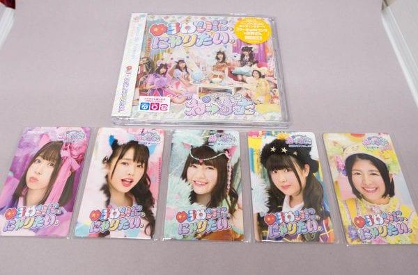CDとミュージックカード