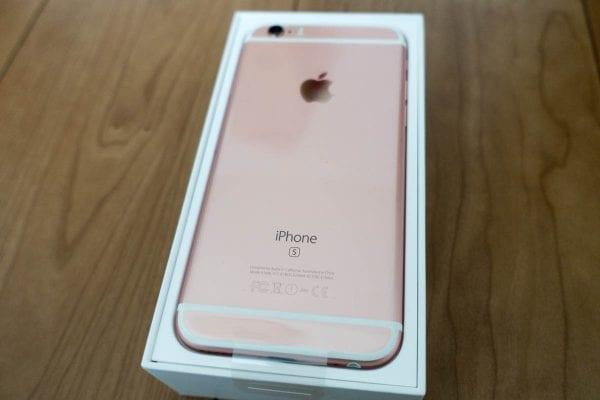 iPhone 6sローズゴールドが2代目親用スマホ