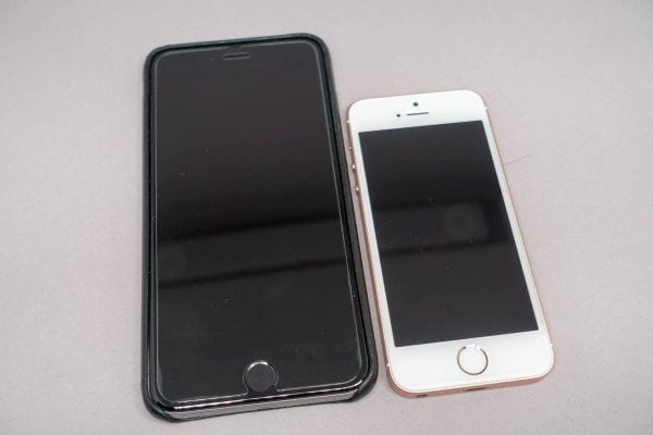 iPhone 6s Plusの保護ガラスと比較