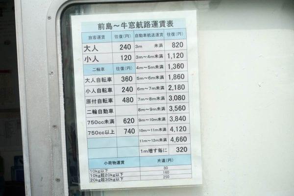 料金は大人往復240円