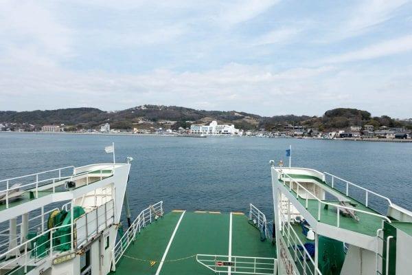 再び本島へ戻る