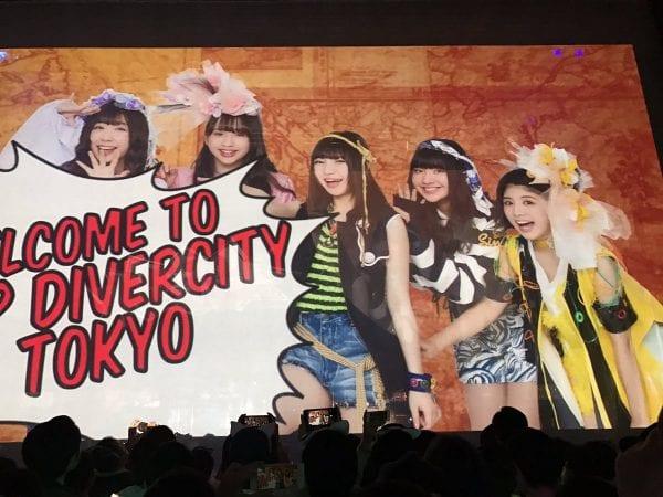 遂にきた、Zepp DiverCity Tokyo