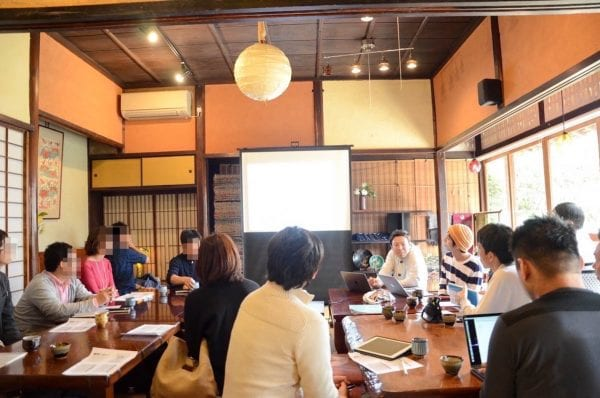 第1回で12人も集まった岡山ブログカレッジ