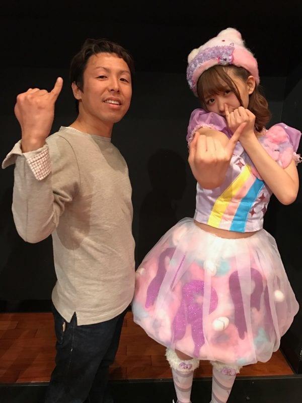 松田美里さんと