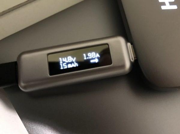 USB-Type Cの入力はUSB Power Delivery対応