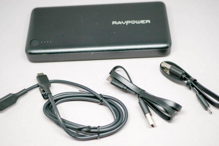 RAVPower 20100mAh USB-C PDモバイルバッテリーの概要