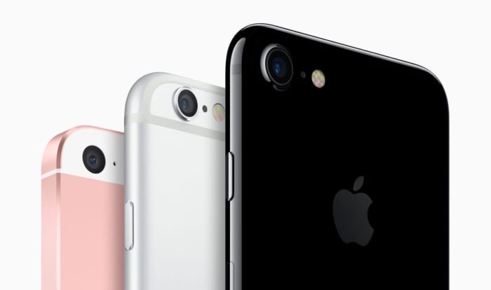 iPhoneのラインアップ