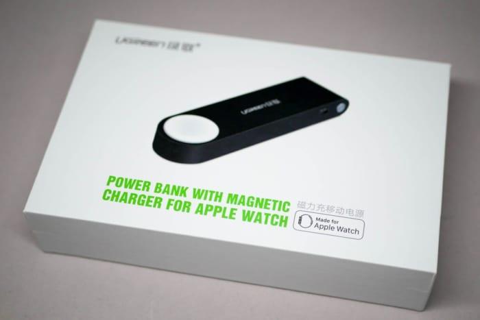 UGREEN Apple Watch用モバイルバッテリーのパッケージ