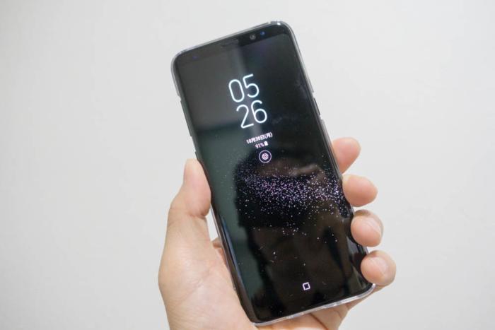 Galaxy S8はコンパクト