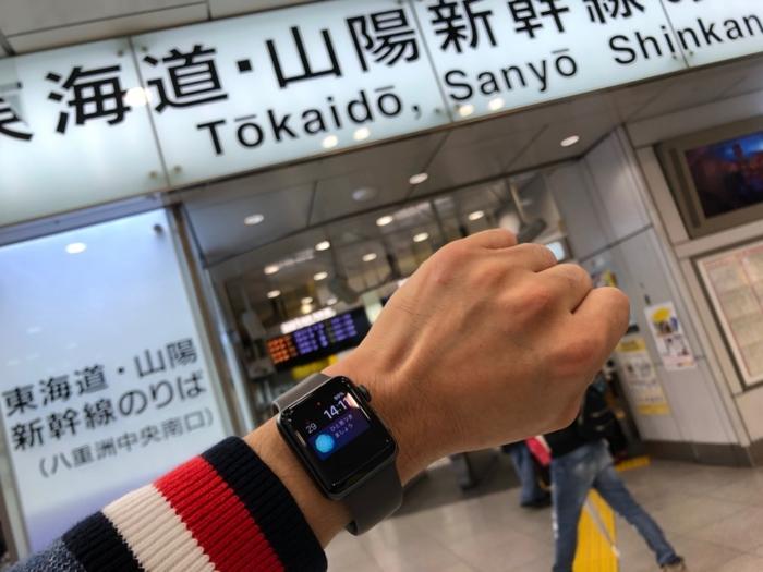 いよいよ東海道新幹線に乗る
