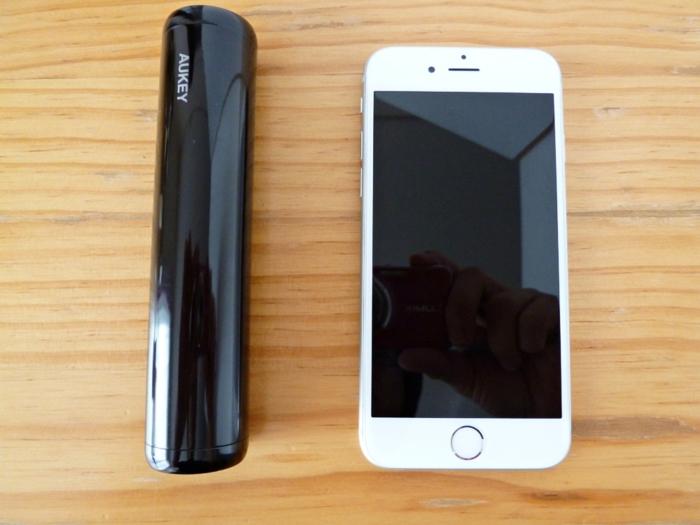 iPhone 6sと本体との比較