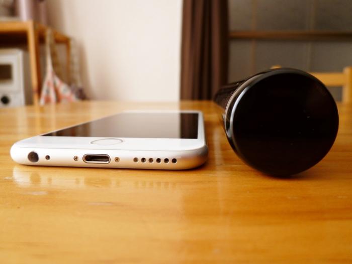 iPhone 6sと本体の厚さ比較