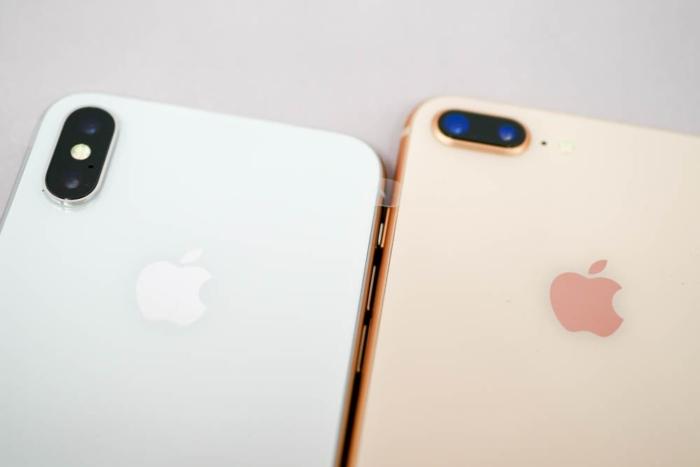 iPhone XとiPhone 8 Plusの比較(カメラ)
