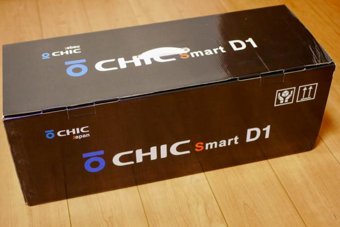 チックスマートD1のパッケージ