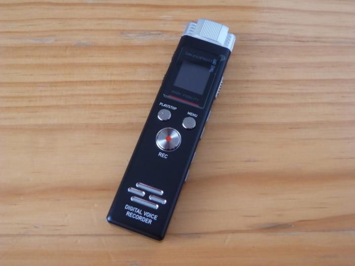 SoundPEATS(サウンドピーツ) Nano6 ボイスレコーダーの本体の画像