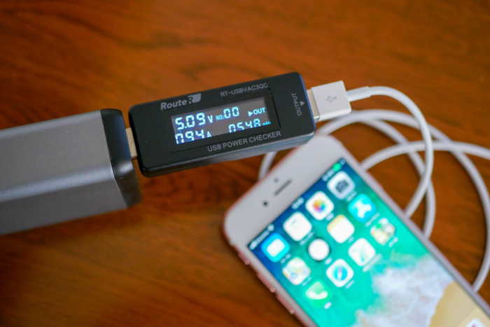 iPhone 6sは1.0Aで充電