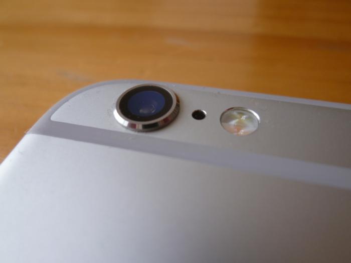 iPhone 6sのカメラ