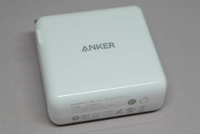 「Anker PowerPort ll PD」側面