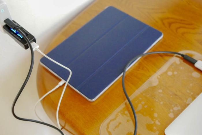 MacBookとiPad Proを同時に充電