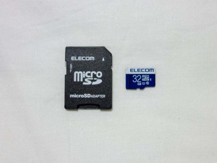 MUSON NOTE3 micro SDHCカード