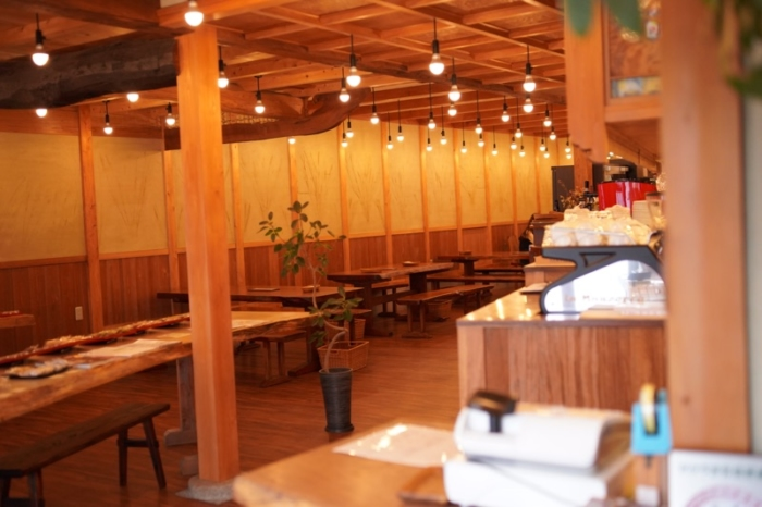 オーガニックカフェ soil店内
