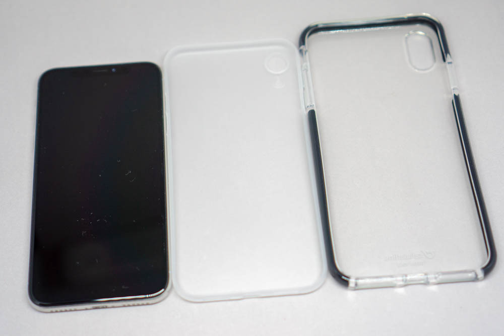 iPhone X・iPhone XR・iPhone XS Maxのサイズ比較